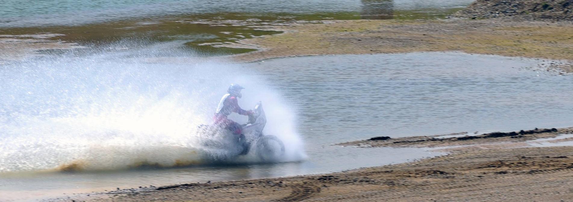 Wassertest BMW RallyeBike
